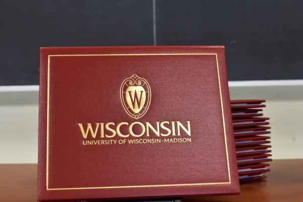 UW Madison diplomas