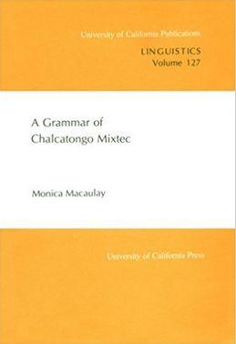 A Grammar of Chalcatongo Mixtec