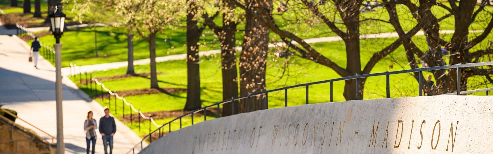 UW-Madison campus in Spring