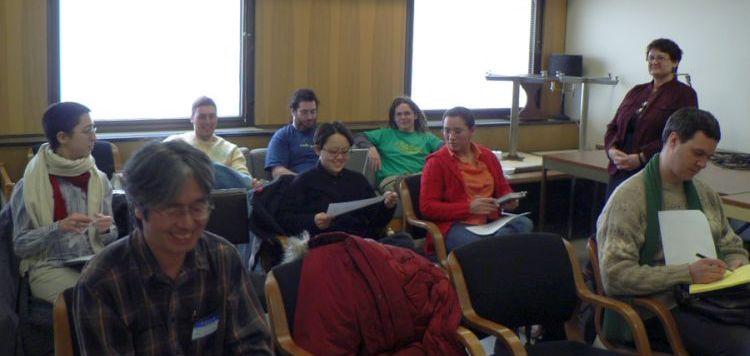 Audience members at WIGL 5 (2007)