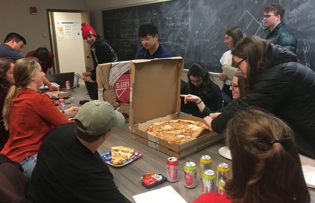 LSO Pizza Party