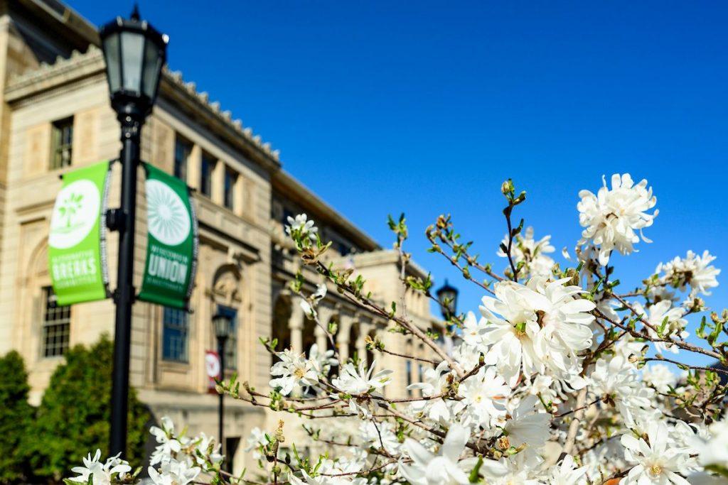 UW-Madison Memorial Union in Spring